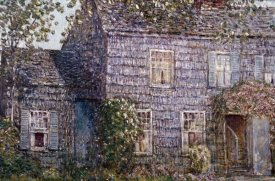 Childe Hassam - Hutchison House, East Hampton, Long Island