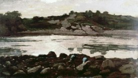 Winslow Homer - Fisherman on Rocks
