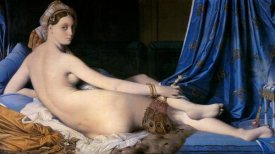 Jean Auguste Dominique Ingres - The Grand Odalisque