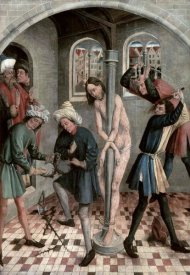 J. Kerbecke - Flagellation of Jesus