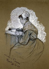Henri Toulouse-Lautrec - The Authoress of St. Lazare