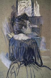 Henri Toulouse-Lautrec - Woman At The Widow