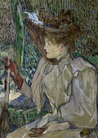 Henri Toulouse-Lautrec - Woman With Gloves