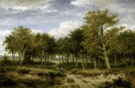 Benjamin Williams Leader - Wooded Landscape Near Surrey
