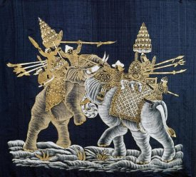 Surint Limatibul - Duelling War Elephants