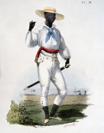 C. Linati - Black Man of The Vera Cruz Region