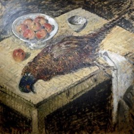 Gustave Loiseau - Pheasant On a Table