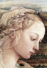 Filippo Lippi - Madonna & Child - Detail (Madonna)