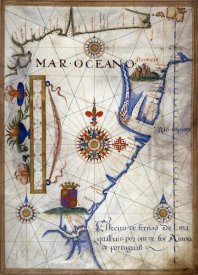 Sebastiano Lopes - Mar Oceano - Portolan Atlas Illumination