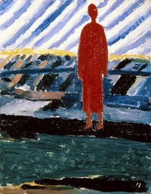 Kazimir Malevich - A Red Figure