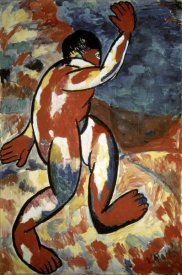 Kazimir Malevich - Bather