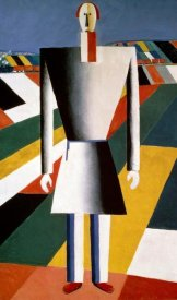 Kazimir Malevich - Farmer In The Field