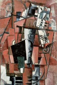 Kazimir Malevich - Lady By The Piano