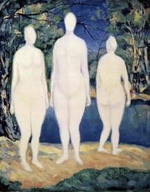 Kazimir Malevich - Three Nude Figures