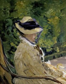 Edouard Manet - Madame Manet at Bellevue