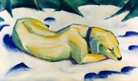 Franz Marc - The Hound (Weiber Hund)