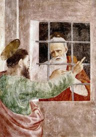 Masaccio - St. Peter In Jail