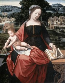 Master of Female Half-Lengths - Madonna & Child
