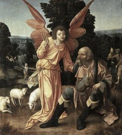 Master of Luebeck - Annunciation To Joachim