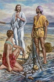 Fortunino Matania - Jesus and The Fishermen
