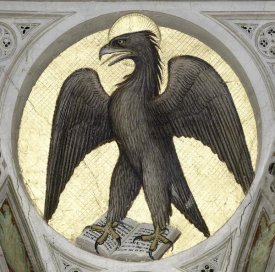 Giusto de Menabuoi - Saint John As An Eagle