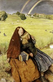 John Everett Millais - Blind Girl