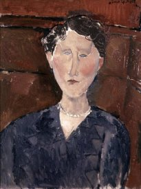 Amedeo Modigliani - Head of Woman
