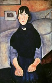 Amedeo Modigliani - La Fille du Peuple