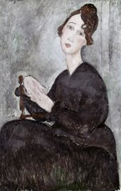 Amedeo Modigliani - Portrait of Madame Mayden