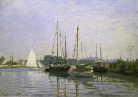 Claude Monet - Boats: Regatta at Argenteuil c. 1872-73