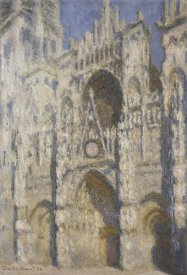 Claude Monet - Cathedral of Rouen, Afternoon