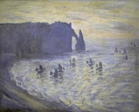 Claude Monet - Cliffs at Etretat