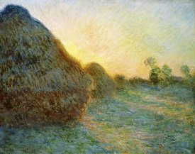 Claude Monet - Haystacks, 1891