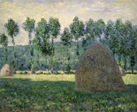 Claude Monet - Haystacks Near Giverny