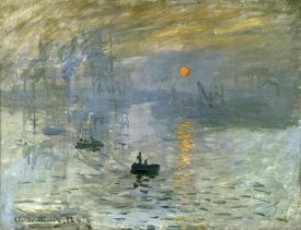 Claude Monet - Impression: Sunrise