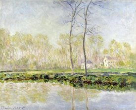 Claude Monet - Banks of the River Epte at Giverny