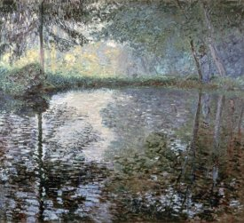 Claude Monet - The Pond at Montgeron, 1876