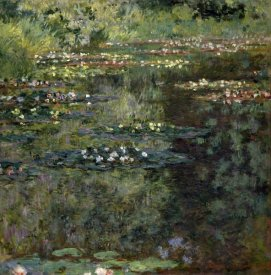 Claude Monet - Pool with Waterlilies, 1904