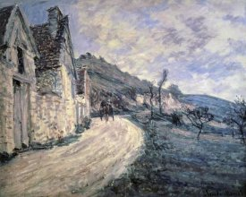 Claude Monet - Rocks at Falaise, near Giverny