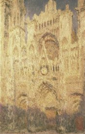 Claude Monet - Rouen Cathedral in the Evening