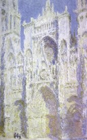 Claude Monet - Rouen Cathedral: West Facade, Sunlight