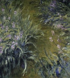 Claude Monet - The Path Through the Irises