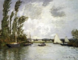 Claude Monet - The Small Branch of the Seine at Argenteuil