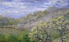 Claude Monet - Trees in Bloom (Arbres en fleurs)
