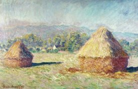 Claude Monet - Two Haystacks