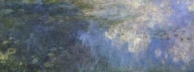 Claude Monet - Water Lilies: The Clouds, c. 1914-26 (left panel)