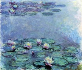 Claude Monet - Water Lilies (Nymphéas) 1914-1917