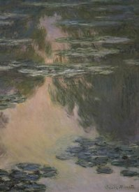Claude Monet - Water Lilies (with Willows)