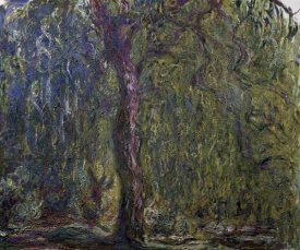 Claude Monet - Weeping Willow (Saule pleureur)