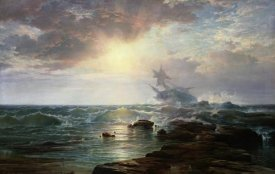 Edward Moran - The Calm after the Storm